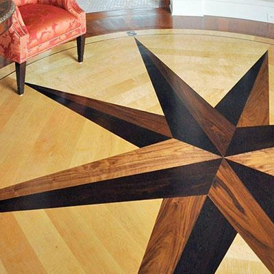 Custom Design Hardwood Flooring