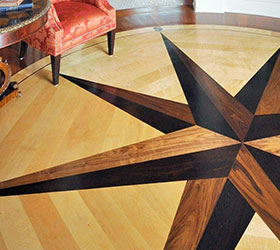 Custom Hardwood Flooring Design
