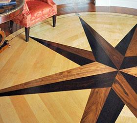 Custom Hardwood Flooring Design
