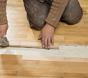 Cincinnati Hardwood Flooring Repair